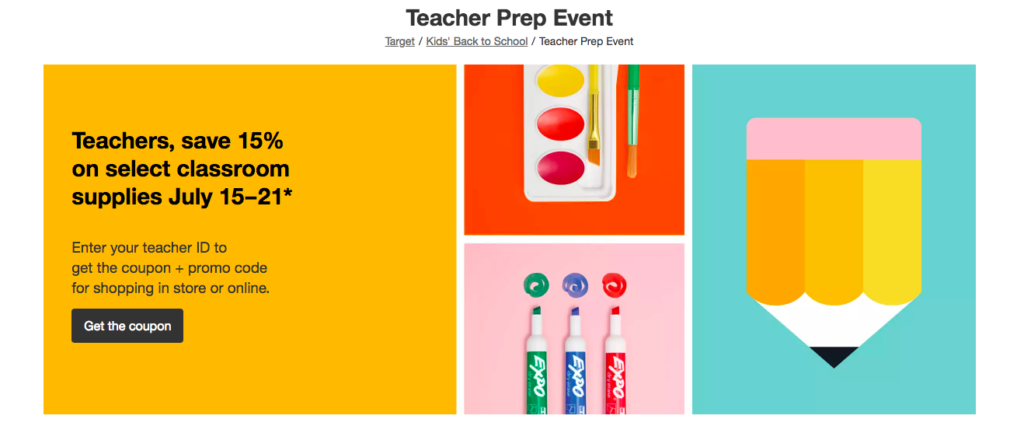 Back to school Teachers маркетинг